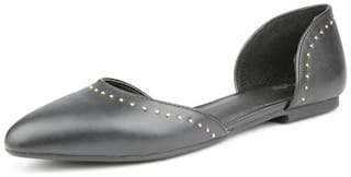 Allen Solly Black Ballerinas