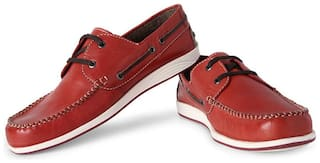 Allen Solly Men Red Casual Shoes