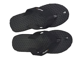 ANCOLITE Women Black Slippers
