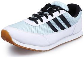 Andrew Scott Men's White-Skyblue Sports Shoe