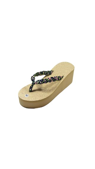 99a2a5011 Buy APPE Women's Casual Slippers Brown Size 5 Online at Low Prices ...