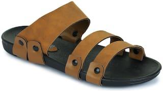 Appett Men Brown Slipper::Appett-271