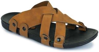 Appett Men Brown Slipper::Appett-270