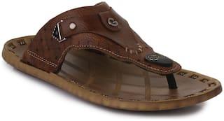 Appett Men Brown Slipper::Appett-00200BROWN