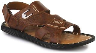 Appett Men Brown Sandals::Appett-00205BROWN