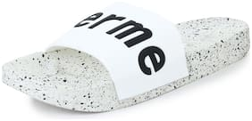 Appett Men White slipper::Appett-265