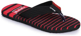 APPETT Men Red Sliders - 1 Pair