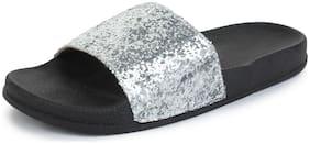 Flip Flops ( Silver )