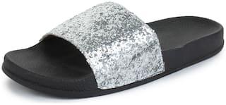 Appett Women Silver slipper::Appett-266
