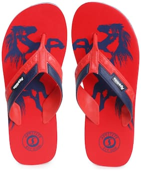 Appitite Men Red Flip-Flops - 1 Pair