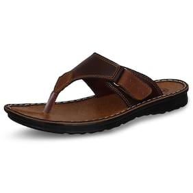 Aqualite Men Brown Outdoor Slippers