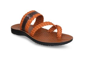 Aqualite Men Brown Outdoor Slippers - Pg0770gpsntntn