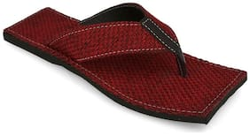 AR Men Red Flip-Flops - 1 Pair