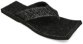 AR Men Black Outdoor Slippers - 1 Pair