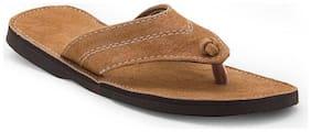 AR Men Beige Outdoor Slippers - 1 Pair