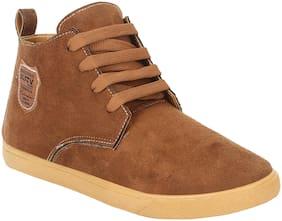 ARMADO Men Brown Outdoor Boots - BROWN-1111