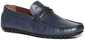 Men Blue  Loafers