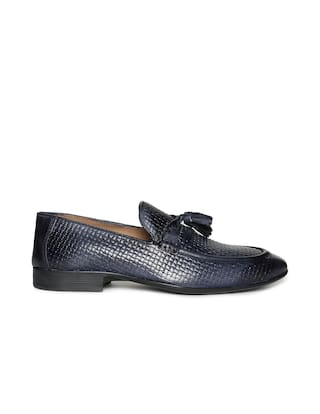 82d20b6b3e1 Buy Arrow Men Blue Loafer Online at Low Prices in India - Paytmmall.com