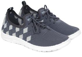 Asian Women Grey Sneakers