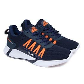 Bouncer 01 Running Shoes For Men ( Navy Blue )