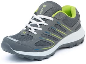 Asian Bullet-02 Grey Green Running Shoes;Sports Shoes;Walking Shoes;Gym Shoes For Men UK-8