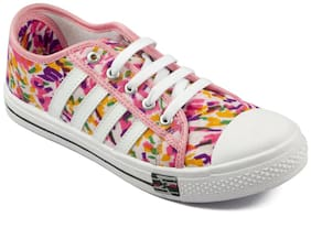 Asian Women Pink Casual Shoes
