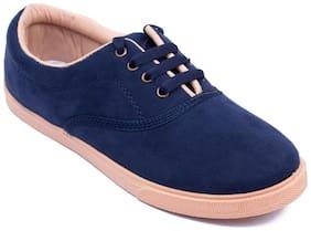 Asian Women Navy Blue Casual Shoes