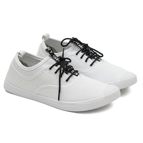 Men White Casual Shoes ,Pack Of 1 Pair