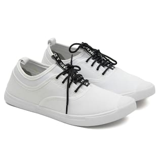 Asian Men White Casual Shoes - CLASSIC-04CWHITE