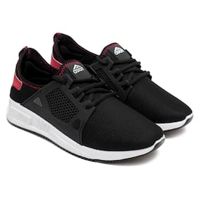 Men Black;Red Casual Shoes