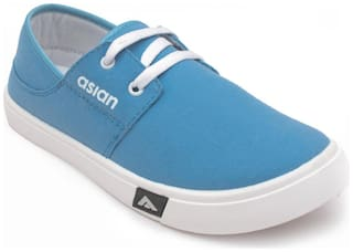 Asian Casual Shoes For Men ( Blue )