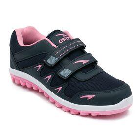 Asian Women Blue Running Shoes