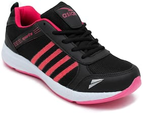 6a2089992002a6 Asian Fashion-13 Black Pink Sports Shoes;Gym Shoes;Walking Shoes;Running