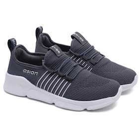 Asian Men Running Shoes ( Grey )