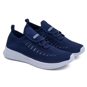 Asian Men Running Shoes ( Navy Blue )