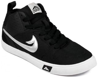 Asian Casual Shoes For Men ( Black )