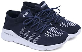 Asian Men AIRSOCKS-02 Running Shoes ( Blue )