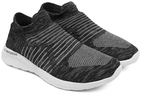 Asian Men Airsocks-01 Grey Flyknit Grey Sports Walking Shoes