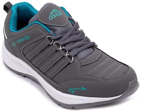 Asian Men COSCOcGRYFRZ Running Shoes ( Grey )