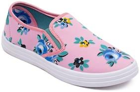 Asian Women Pink Casual Shoes