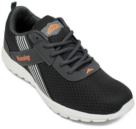 Asian Super-102 Grey Orange Running Shoes For Men