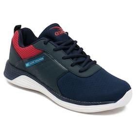 Asian Men Navy Blue Running Shoes
