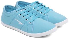 Asian Women Blue Casual Shoes