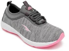 Asian Women Running Shoes ( Grey )