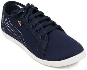 Asian Women Navy Blue Casual Shoes