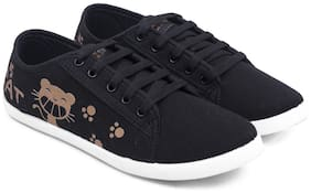 Asian Women Black Casual Shoes