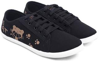 Asian Women Black Casual Shoes