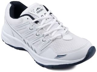Asian Men Running Shoes ( White )