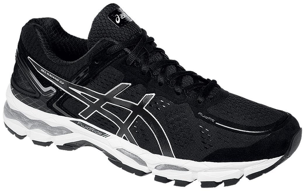 Asics Black Gel Kayano 22 Running Shoes for Men Buy Asics