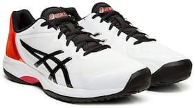Asics Men GEL-COURT SPEED - WHITE/BLACK Running Shoes ( White )